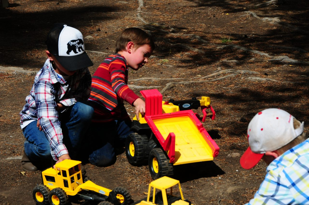 Boys Playing in the Dirt….